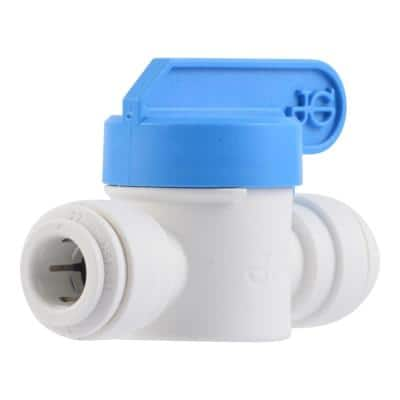 3/8 in. Polypropylene Push-to-Connect Valve (10-Pack)