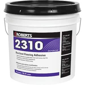 2310 4 Gal. Resilient Flooring Adhesive for Fiberglass Sheet Goods and Luxury Vinyl Tile