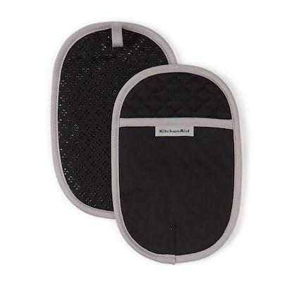 Asteroid Cotton Black Pot Holder (2-Pack)