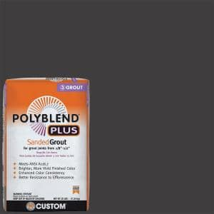 Polyblend Plus #60 Charcoal 25 lb. Sanded Grout