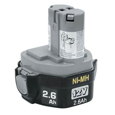 12V Ni-MH 2.6Ah Battery, Pod Style
