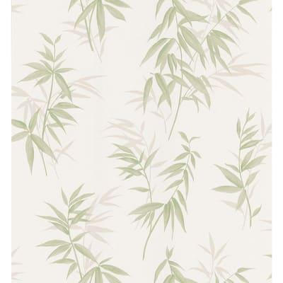 Bamboo Green Wallpaper Sample