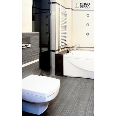 Italia Zen Noir 12 in. x 24 in. Porcelain Floor and Wall Tile (16.68 sq. ft. / case)