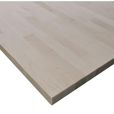 Allwood 1.5 in. x 24 in. x 72 in. Birch Edge Glued Project Panel