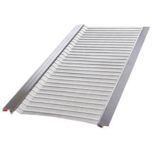 Gutter Guard By Gutterglove 4 Ft L X 6 In W Stainless Steel Micro Mesh Gutter Guard 3 Pack Thdx12 The Home Depot