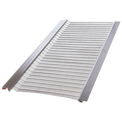 3 ft. L x 5 in. W Stainless Steel Micro-Mesh Gutter Guard (39 ft. Kit)