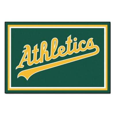 Oakland Athletics 5 ft. x 8 ft. Area Rug