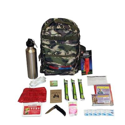 1-Person Essentials Outdoor Survival Kit