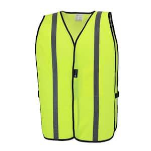 48 in. Hi-Vis Yellow Mesh Safety Vest