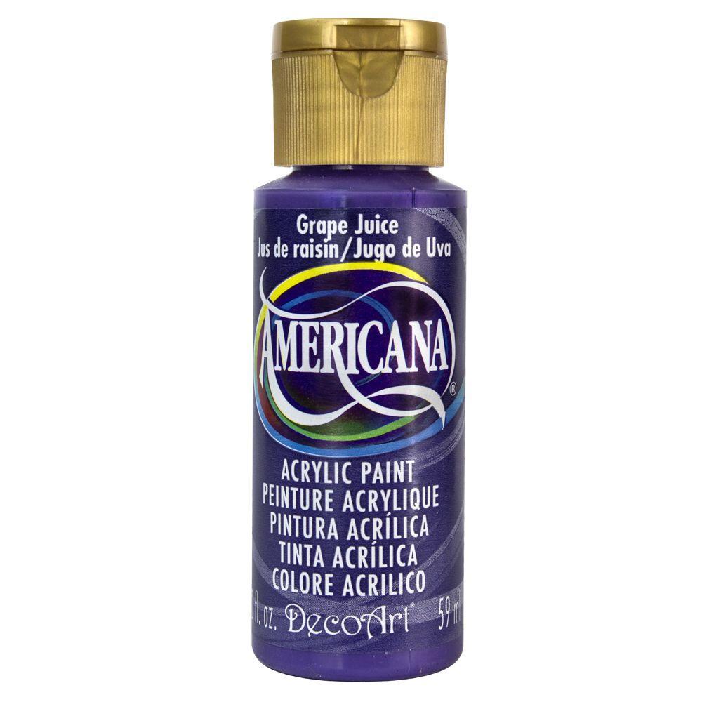 Americana 2 oz. Grape Juice Acrylic Paint