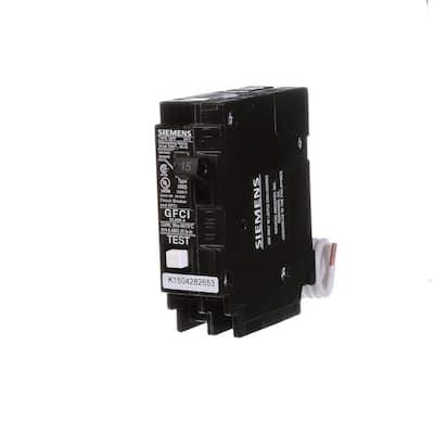 15 Amp Single Pole Type QPF2 GFCI Circuit Breaker