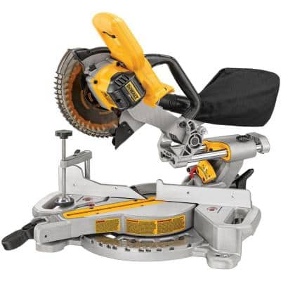 20-Volt MAX Cordless 7-1/4 in. Sliding Miter Saw (Tool-Only)