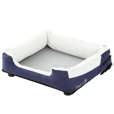 Large Blue Dream Smart Electronic Heating and Cooling Smart Pet Bed