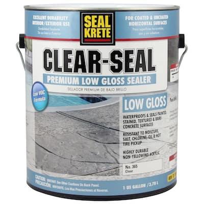 1 gal. Clear-Seal Low-Gloss Sealer