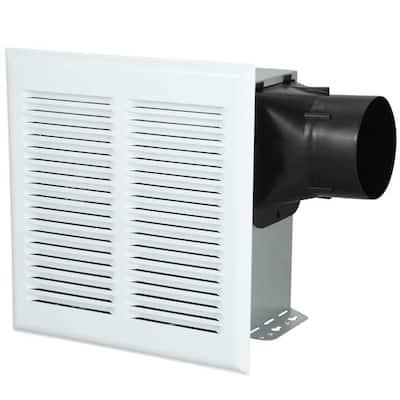 Roomside Series Heavy Duty 80 CFM Ceiling Roomside Installation Bathroom Exhaust Fan