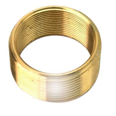 Convert 1.375 in. x 16 Threads to 1.625 in. x 16 Threads Brass Bushing