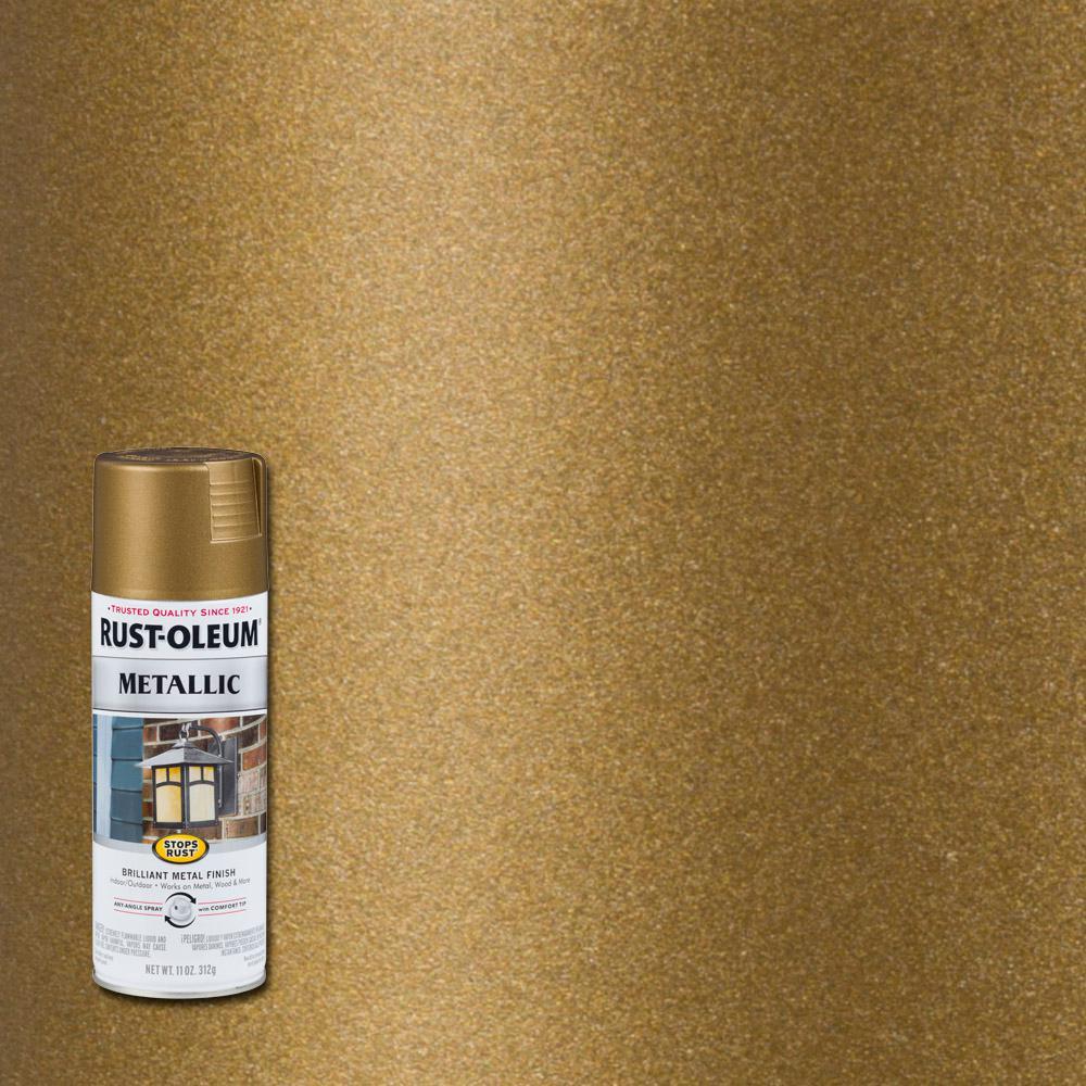 11 oz. Metallic Champagne Bronze Protective Spray Paint