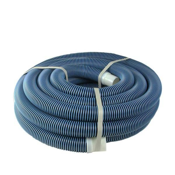Pool Central 35 Ft X 1 5 In Spiral Wound Vacuum Swimming Pool Hose 31467302 The Home Depot