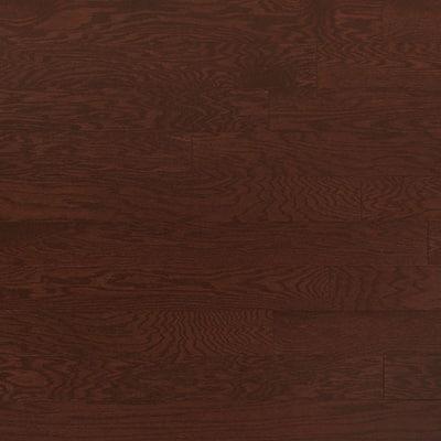 Oak Merlot 3/4 in. Thick x 4 in. Wide x Random Length Solid Real Hardwood Flooring (21 sq. ft. / case)