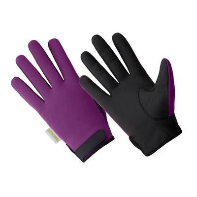 Ladies Hi Dexterity 100% Waterproof Palm Printed Black Sereno Glove, Bellflower