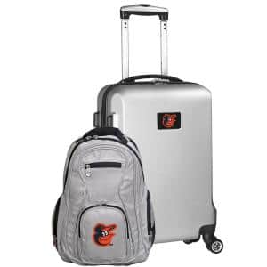 Baltimore Orioles Deluxe 2-Piece Backpack and Carry on Set