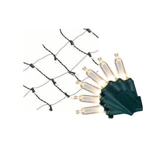 7.5 ft. x 8 in. 150-Light Mini Warm White Ribbon Net Light