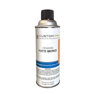Matte Bronze Aerosol Spray Can