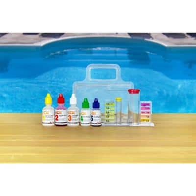 5-Way Swimming Pool and Spa Test Kit