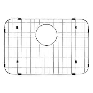 Wirecraft 13.63 in. x 20.38 in. Bottom Grid for Kitchen Sinks in Stainless Steel