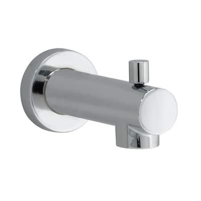 Serin Slip-On Diverter Tub Spout in Polished Chrome