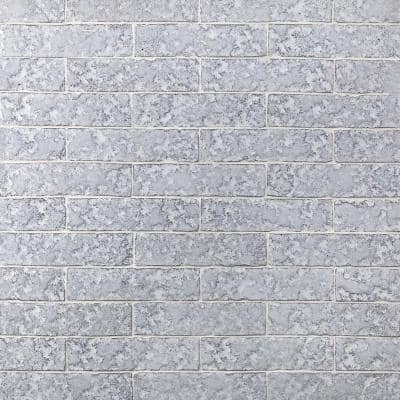 Weston Temp White 2 in. x 8 in. 14mm Polished Clay Subway Wall Tile (40-piece 4.78 sq. ft. / box)