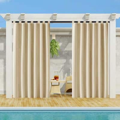 Outdoor Curtains Window Treatments, What Is The Best Material For Outdoor Curtains