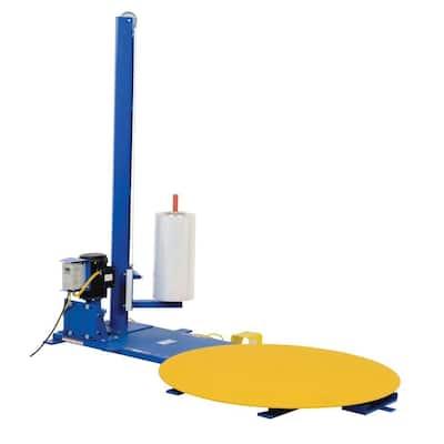 4,000 lb. 48 in. Semi-Automatic Turntable Stretch Wrap Machine