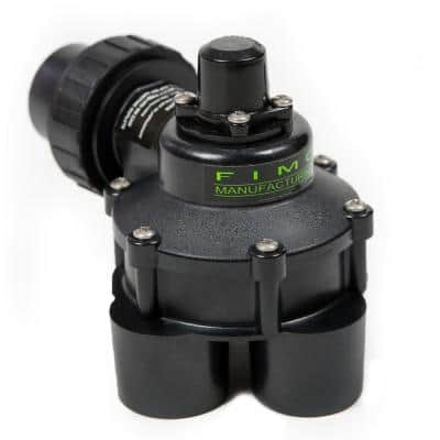 1-1/4 in. Mini 4 Outlet Indexing Valve with 2, 3 and 4 Zone Cams