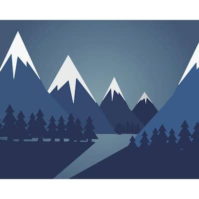 Snow Mountain Wall Mural