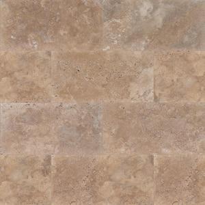 Mediterranean Walnut 16 in. x 24 in. Rectangle Tan Travertine Paver Tile (60 Pieces/160.2 Sq. Ft./Pallet)