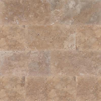 Mediterranean Walnut 16 in. x 24 in. Tan Travertine Paver Tile (60-Pieces/160.2 Sq. Ft./Pallet)