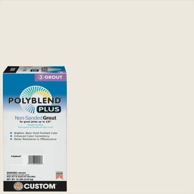 Polyblend Plus #381 Bright White 10 lb. Non-Sanded Grout