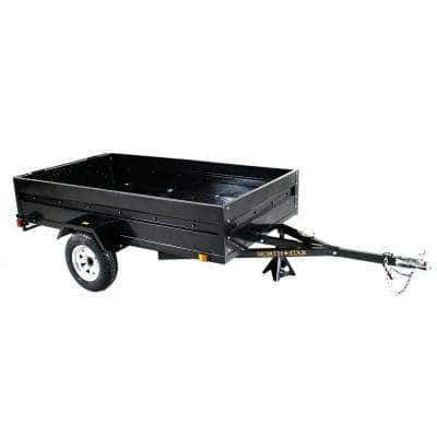 Multistar 4.5 ft. x 8 ft. Utility Trailer Kit with Rear Loading Ramp