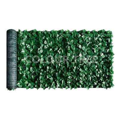 3 ft. x 14 ft. Faux Ivy Leaf Vines Indoor/Outdoor Privacy Fencing Roll