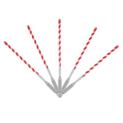 3/16 in. SPEEDemon Red Granite Carbide Tipped Hammer Drill Bit Set (5-Pieces)