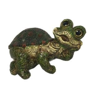 18.5 in. W Turtle X-Large Lying Whimsical Home and Garden Statue
