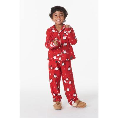 Family Flannel Company Cotton™ Kid's Pajama Set in Santa