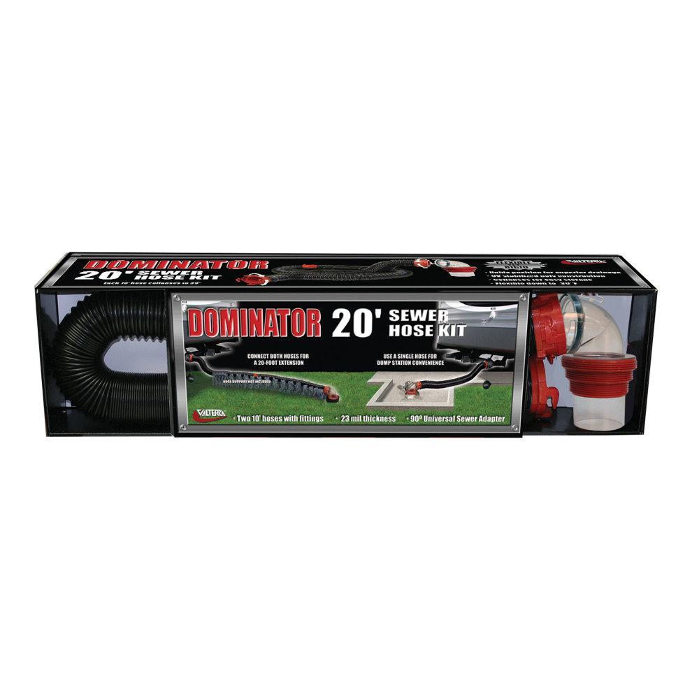 Dominator Sewer Hose Kit - 20'