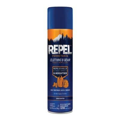 6.5 oz. Permethrin Clothing and Gear Insect Repellent Aerosol