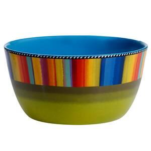 Sierra 11 in. Multicolored Deep Bowl