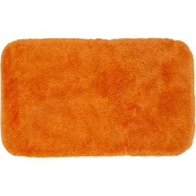 Royal Paprika 24 in. x 40 in. Nylon Machine Washable Bath Mat