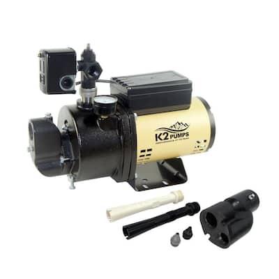 3/4 HP 20 GPM Diagnostic Convertible Jet Pump