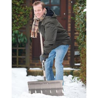 24 in. Aluminum Snow Pusher