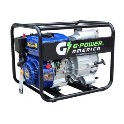 7 HP 3 in. Trash/Water Pump with 208cc LCT Professional Brand Engine, 110 GPM
